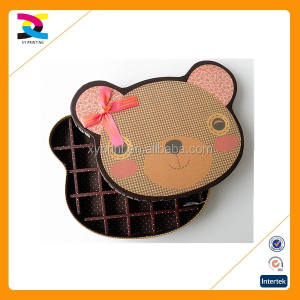 2016 new design eco custom made cardboard cookie gift box
