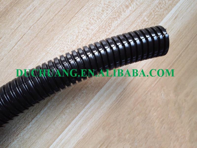 Non split flexible corrugated plastic pipe wire