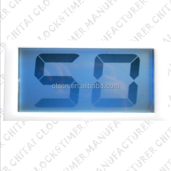 Alibaba Hot Selling Custom Large 7 Segment LCD Display