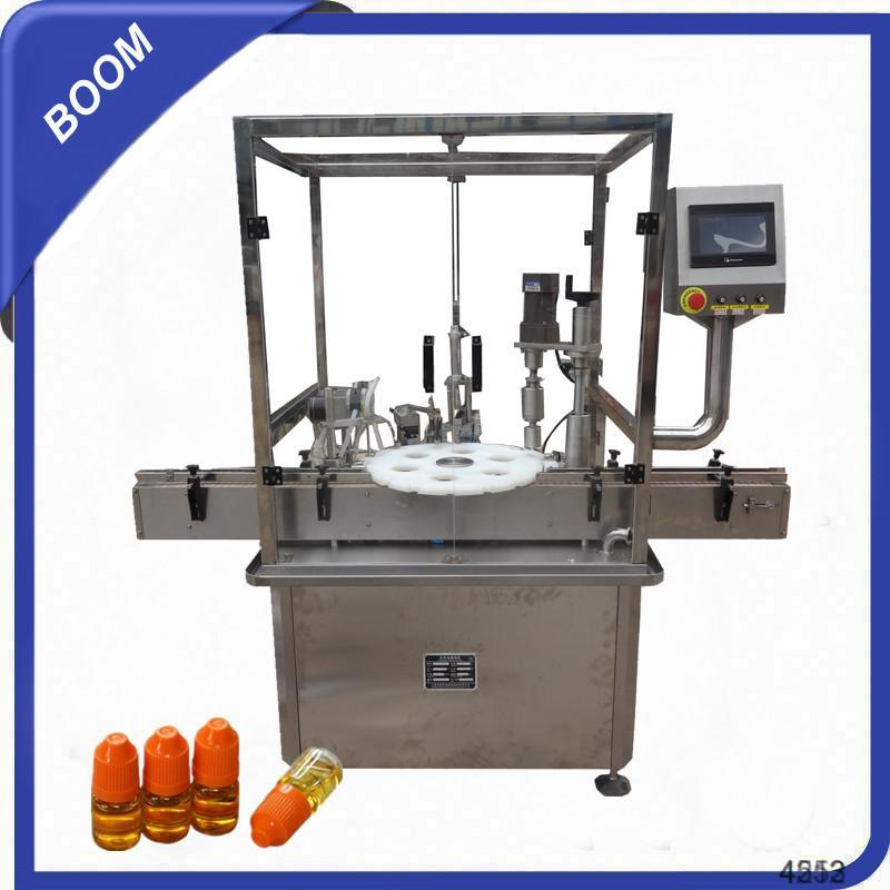 HTDY Automatic Small doses electronic cigarette liquid filling and capping machine