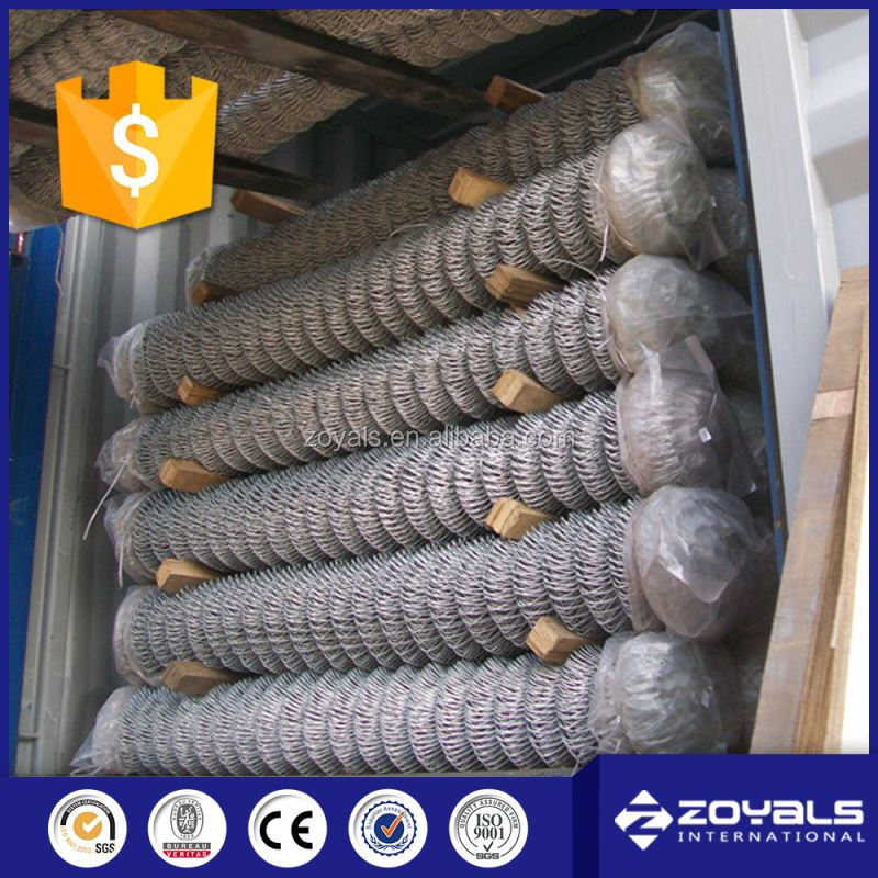 Alibaba.com Galvanized Chain link fence in rolls