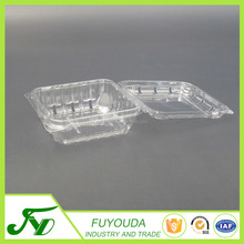Good quality china manufacture plastic clamshell packaging blueberry container