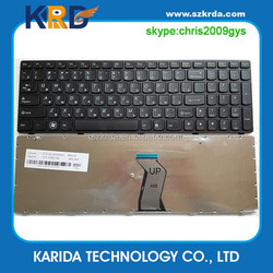 Good Price russian laptop keyboard for lenovo G580 G590 Z580A G585 Z585 B580 G780 G77 RU keyboard