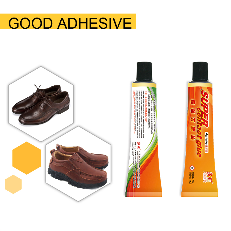 high viscousity colorless transparent super glue for leather shoe repair