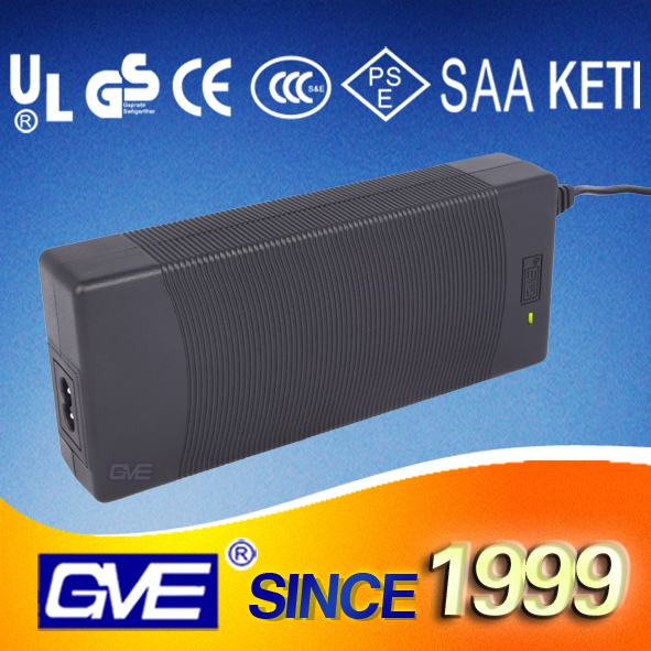 GVE 60W 12V 5A Lead Acid Rechargeable Battery Charger with UL GS ROHS certificate
