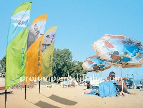 Outdoor advertising promotional wind flag banner