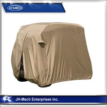 High quality polyester golf cart cover for 4 passengers