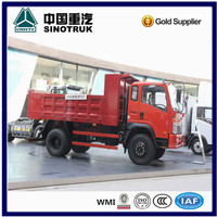 sino truck CDW light tipper 10ton truck for sale