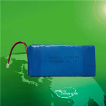 China Lipo Battery HW5045135 12V 11.1V rechargeable 3S1P lithium polymer battery 3200mAh