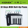newest products roll up piano, separable folding piano,silicone piano