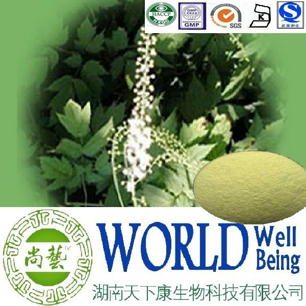 Hot sale Black cohosh extract/Triterpene 8%/Black cohosh powder/Adjust estrogen level plant extract
