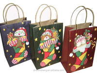 custom christmas paper bag