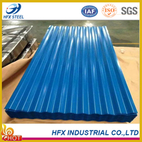 factory supply prepainted corrugated steel roofing sheet from shandong