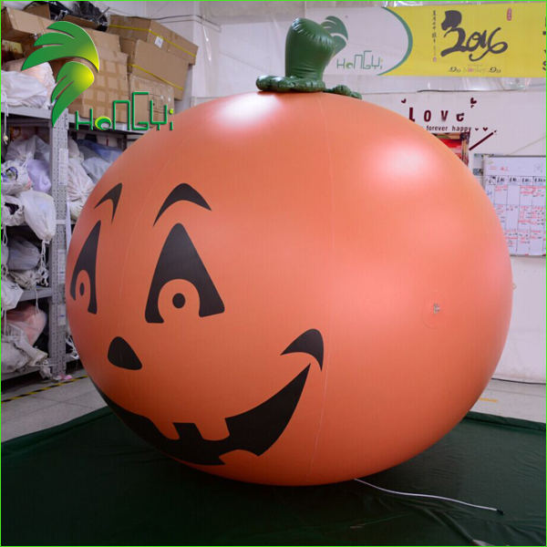 Lower Price Decoration Display Inflatable Plastic Halloween Pumpkin Ball