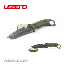 HK177 High quality outdoor fixed blade tactical knife jungle hunting survival knife with G-10 handle
