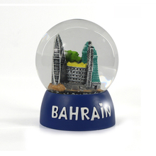 Bahrain world trade center souvenir land schneekugel