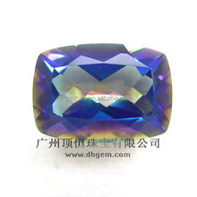 gemstone raw material jewelry natural magic blue topaz wholesale price