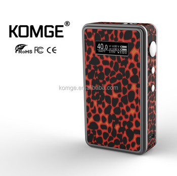 2017 Newest Trending Vaping Box Mods Malaysia Indonesia Stock Box Mods