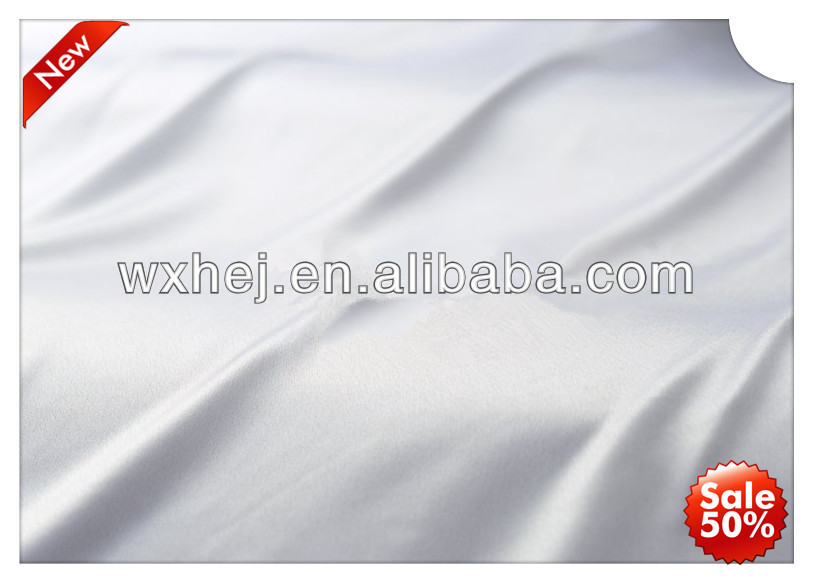 factory price bleached 100% cotton plain white hotel fabric