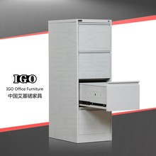 Metal furniture 4 drawer cabinet 1.3m height tall filing cabinet