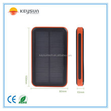 New product Portable 20000mAh Solar Dual USB External Battery Power Bank Pack Charger for iPhone
