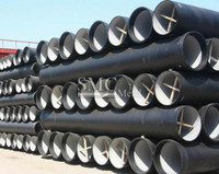 Drinking water supply ductile iron pipe.