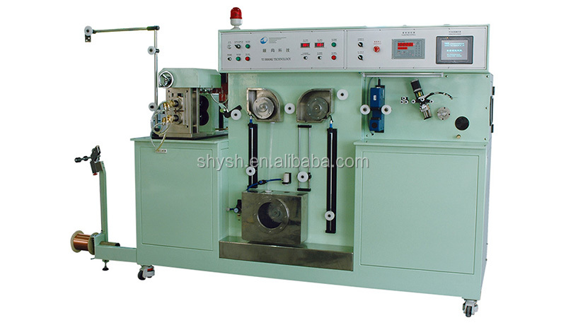 Shanghai good quality low price cheap new second hand 0.02mm pv copper ribbon drawing machine