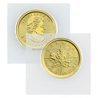 2015 Canadian Maple Leaf Gold Plated Coin ,Custom Gold Silver Coin