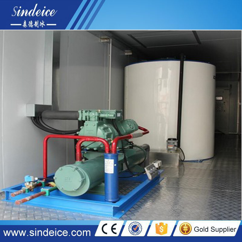 Sindeice Directly Offer Containerized Flake Ice Machine 10T Per Day