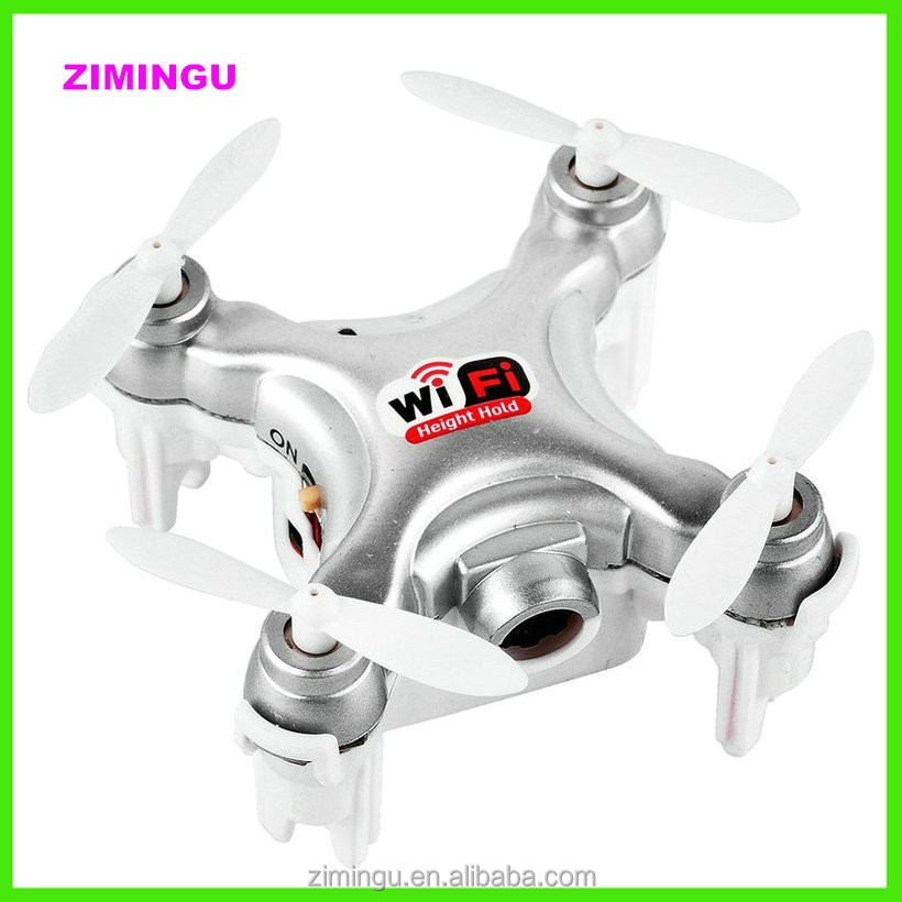 CX-10W 2.4G 6 axis aerocraft quadcopter mini rc ufo helicopter wifi 0.3MP Camera Wifi APP Control drone