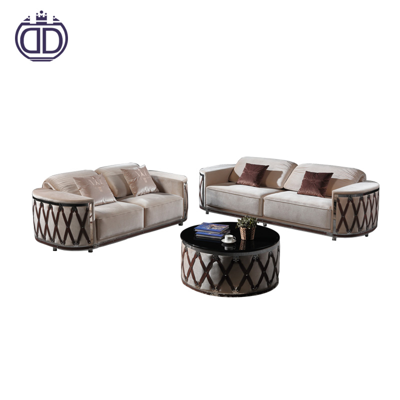 turkish sofa furniture modern reclining couch living room sofa design velvet fabric wooden sofa set