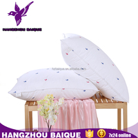 Pure Soft Simple Printing Cotton Cover Pillow with Ear Hole