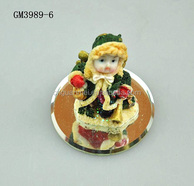 2016 Wholesale Tiny Figurine Resin Craft for Home Decoration