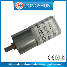 battery operated low torque 6V micro dc motor with gearbox
