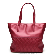 Wholesale hanging file maroon large two compartment tote bag