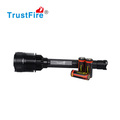 Hot selling CREE 7*leds torch 8000LM high power led torch TrustFire X100 26650 rechargeable flashlight