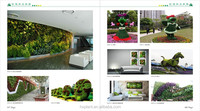best-selling plant wall fittings artificial calla leaves plant wall