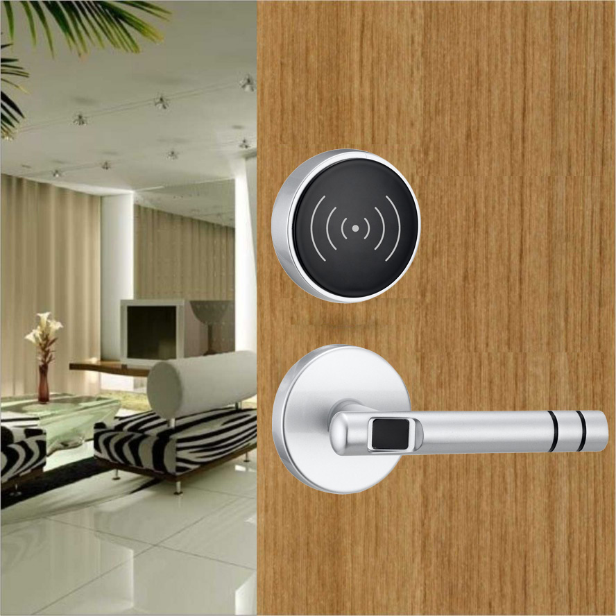 RFID hotel key card lock door entry system with management software