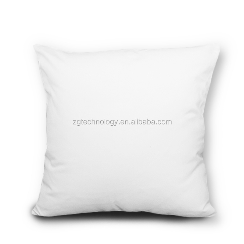 Wholesale Customized Sublimation Printing Canvas Cushion Cover Blank