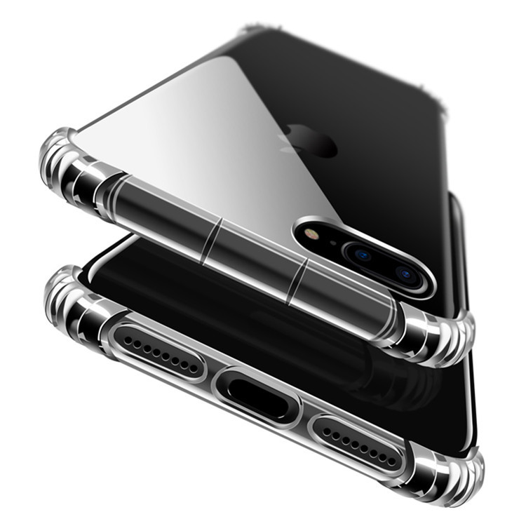 Mobile phone <strong>accessories</strong> shockproof transparent tpu smartphone shell for fundas para iphone 7 plus cover case