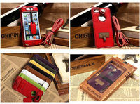 "cell phone case For iphone 5s 5c New Universal cell phone shoulder bag Case for All Smartphones up to 5.5"" w/ Neck Strap"