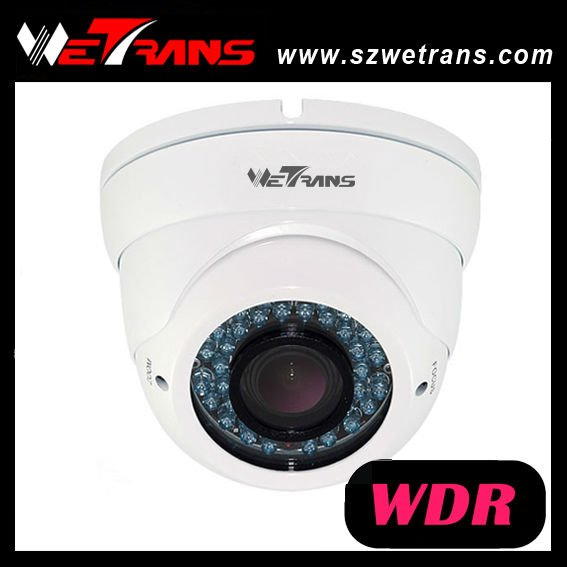 WETRANS TR-WDR123 Metal Housing Pixim 690TVL WDR IR Camera