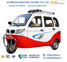 China Rickshaw Electric Battery Power 1000w tricycle for passenger for sale