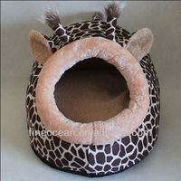 warm&soft plush&stuffed pet/dog/cat bed/cushion