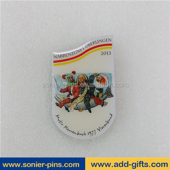 Sonier-Pins cartoon lapel pin, cute pins, printing pins with epoxy