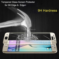 2015 Newest 9H Factroy Price s6 edge plus tempered glass,3D Curved Full Cover s6 edge screen protector tempered glass
