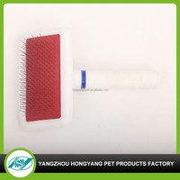 Wholesale Pet Dog Grooming Tools, Steel Comb Pet grooming pin comb,Brush Comb Hair Fur Shedding Tool