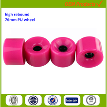 customized color wheels street slide parts for a skateboard