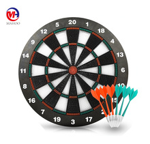 "2017 New Arrival Soft Tip Safety Darts and 16"" Dart Board Great Games for Kids"