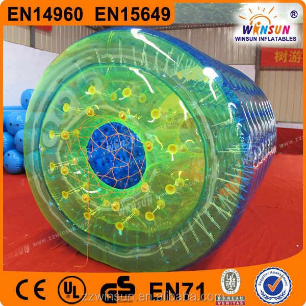 funny water roller , inflatable water roller , hot sale inflatale water roller